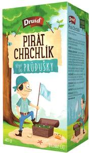 Druid Pirát Chrchlík Dětský bylinný čaj průdušky