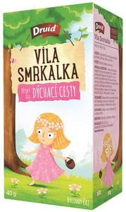 Druid Víla Smrkalka Dětský bylinný čaj dýchací cesty
