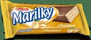 Marila Marilky arašídové celomáčené