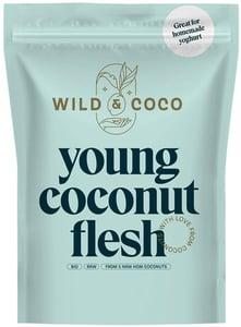 Wild & Coco BIO Raw dužina z mladého kokosu (mražené)