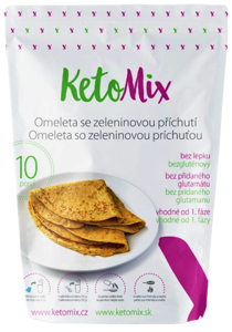 KetoMix Proteinová omeleta se zeleninovou příchutí - 10 porcí