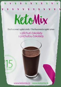 KetoMix Příchuť ke koktejlu - čokoláda - 15 porcí