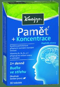 Kneipp Paměť a koncentrace