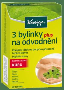 Kneipp 3 bylinky na odvodnění