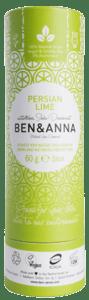 Ben & Anna BIO Tuhý deodorant - Perská limetka