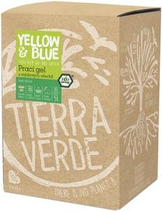 Yellow & Blue prací gel bez vůně (5l)