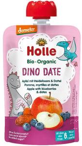 Holle BIO Pyré Dino Date jablko-borůvky-datle