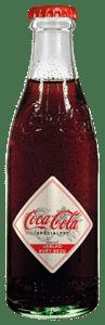 Coca-Cola Specialty jablko & květ bezu sklo