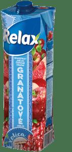 Relax Exotica grapefruit, jablko, červené hrozno, granátové jablko