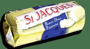 St. Jacques Beurre Doux Pasteurisé