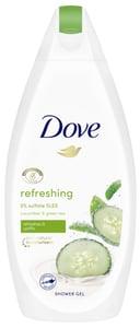 Dove Refreshing Sprchový gelOkurkaazelenýčaj