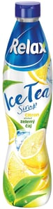 Relax Ice tea sirup Citron & Zelený čaj