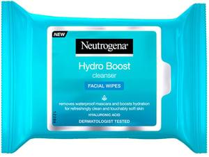 Neutrogena Hydro Boost cleanser pleťové ubrousky