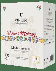 Vinium Modrý Portugal BiB