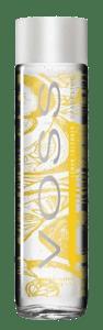 VOSS Perlivá voda ve skle citrón & okurka