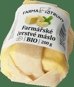 Farma Struhy BIO Farmářské čerstvé máslo