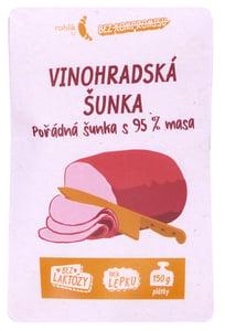 Rohlik.cz Vinohradská šunka nejvyšší jakosti shaved s obsahem masa 95 %