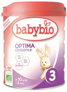 Babybio BIO Kojenecké mléko 3 Optima Croissance