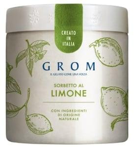 Grom Sorbetto al Limone citronový sorbet