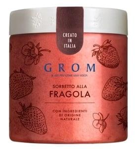 Grom Sorbetto alla Fragola jahodový sorbet