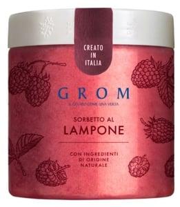 Grom Sorbetto al Lampone malinový sorbet
