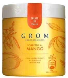 Grom Sorbetto al Mango mangový sorbet