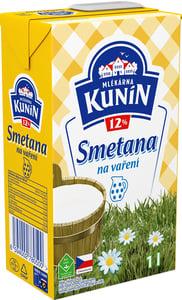 Mlékárna Kunín Smetana 12 % tuku