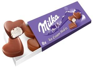 Milka Ice cream hearts zmrzlinová srdíčka