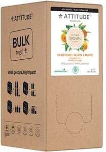 Attitude Super leaves Přírodní mýdlo na ruce pomerančové listy - náhradní kanystr