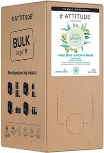 Attitude Super leaves Přírodní mýdlo na ruce olivové listy - náhradní kanystr