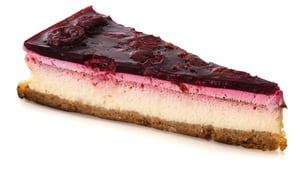 Rohlik.cz Cheesecake with cherries