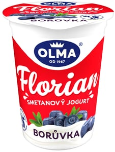 Olma Florian smetanový jogurt borůvka