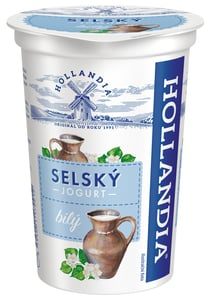 Hollandia Selský jogurt bílý 3,5%