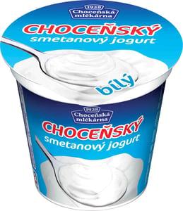 Choceňská mlékárna Choceňský smetanový jogurt bílý 10%