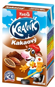Tatra Kravík ochucené mléko kakao