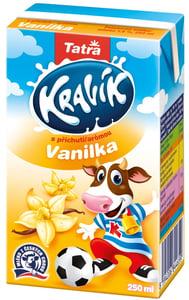 Tatra Kravík ochucené mléko vanilka