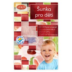 LE&CO Šunka pro děti výběrová plátky