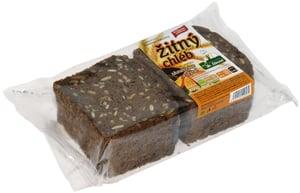 Hradecká pekárna Chléb žitný s dýní a slunečnicí krájený,