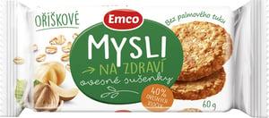 Emco Mysli na zdraví Ovesné sušenky oříškové