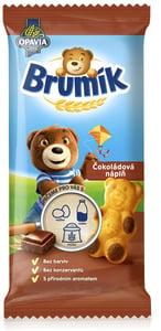 Opavia Brumík čokoládová náplň