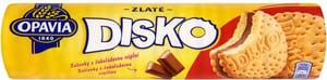 Opavia Disko Sušenky s čokoládovou náplní