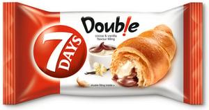 7Days Croissant double kakao+vanilka