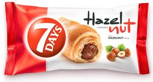 7Days Croissant lískooříškový