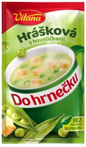 Vitana Do hrnečku Instantní polévka hrášková s houstičkami