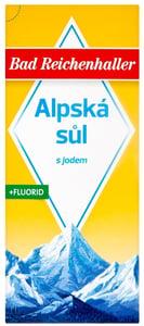 Bad Reichenhaller Alpská sůl s jódem a fluoridem