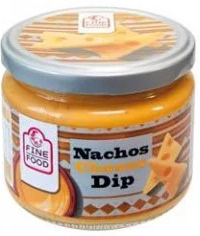 Fine Food Nachos cheese dip