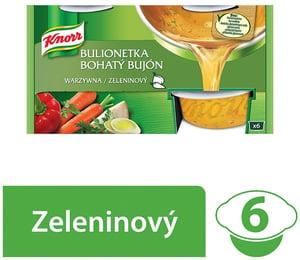 Knorr Bohatý Bujón zeleninový 3l (6x28g)