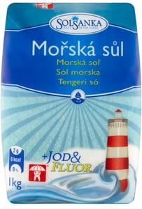 Solsanka mořská sůl s jódem a fluorem
