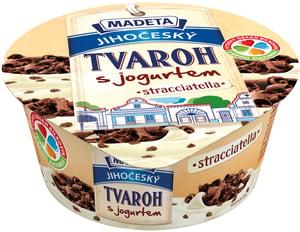 Madeta Jihočeský tvaroh s jogurtem stracciatella