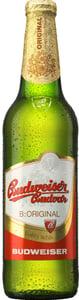 Budweiser Budvar B:original světlý ležák pivo - sklo